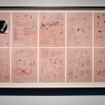 Marcel Dzama, A Game of Chess Storyboard, 2012. Courtesy of the artist and David Zwirner Gallery, New York.  Photo by John Dean.
