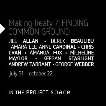 Making Treaty 7: Finding Common Ground