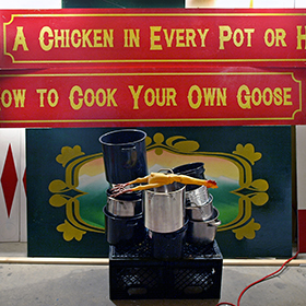 Kyle Beal A Chicken In Every Pot Or How To Cook Your Own