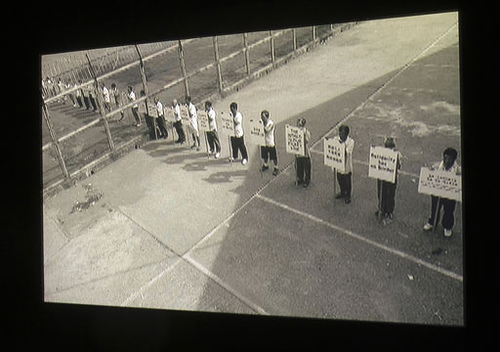 Chen Chieh-jen (Taiwan),The Route, 2006. 35mm transferred to DVD, color and black-and-white (no sound), 16 mins., 45 secs. Courtesy of the artist