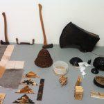 Peter von Tiesenhausen's studio at The Banff Centre, November 2013. Image: Naomi Potter